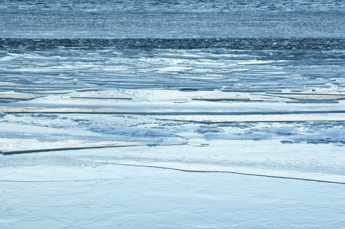 300mm ice abstract