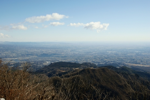 The Kanto Plains from Soumasan - 1,411m